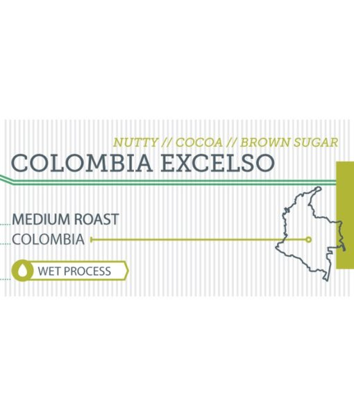 Colombia Excelso label