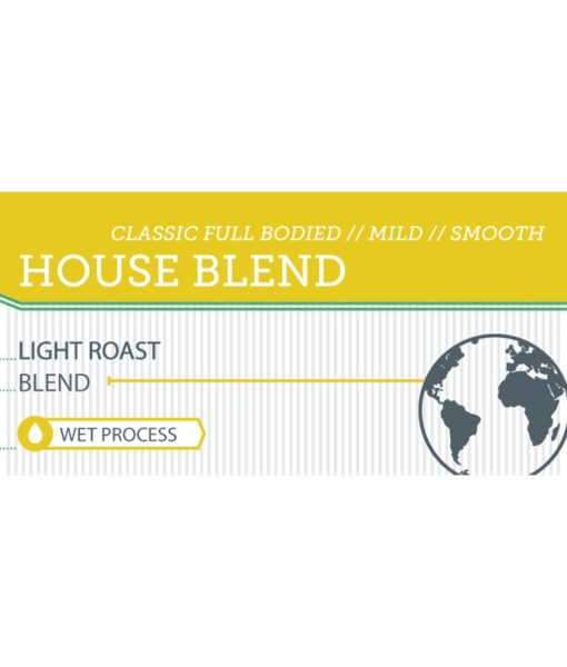 Driven House Blend label