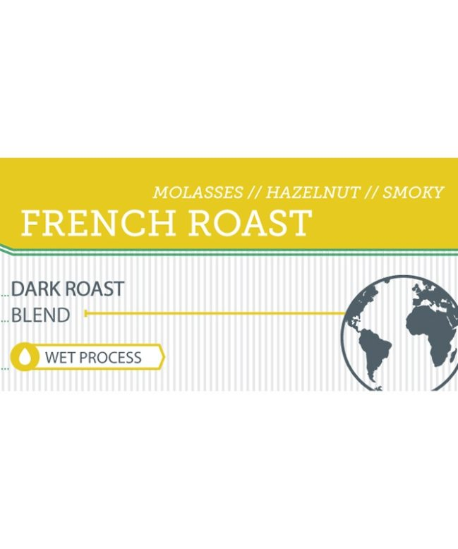 French Roast label