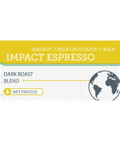 Impact Espresso label