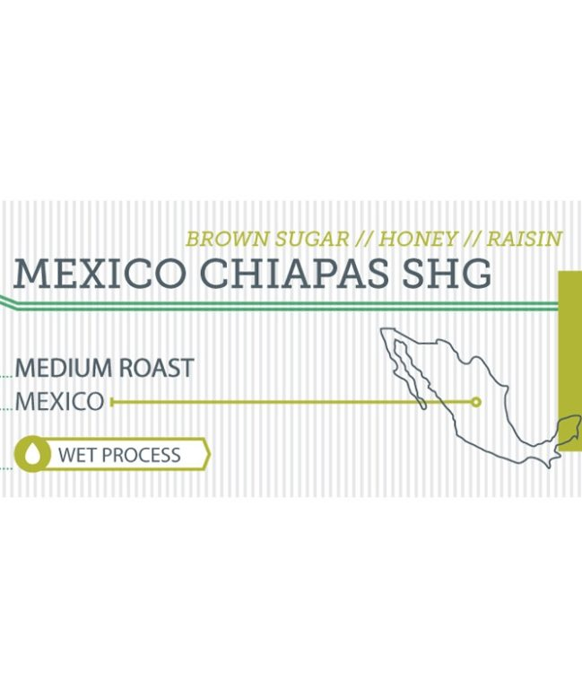 Mexico Chiapas SHG label