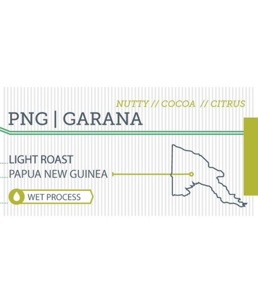 Papua New Guinea label