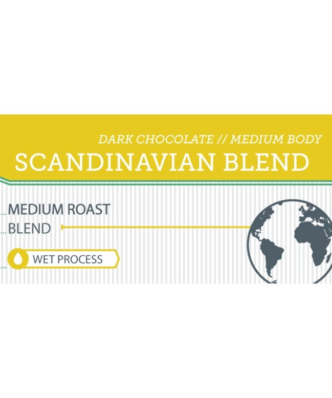 Scandinavian Blend label