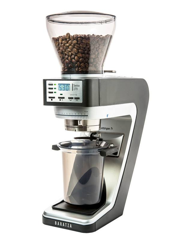 Sette 270 – Conical Burr (with Grounds Bin and built-in PortaHolder)