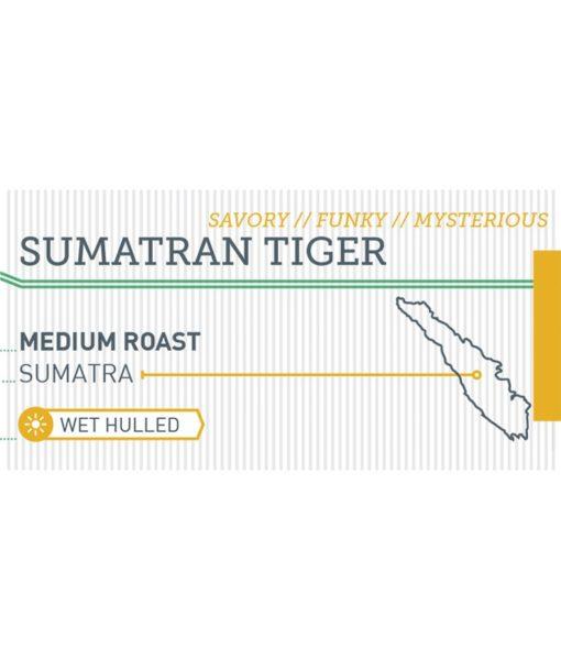 Sumatran Tiger label