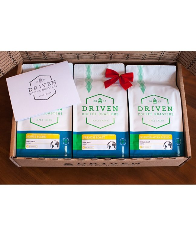 Coffee Blend Sampler Gift Box