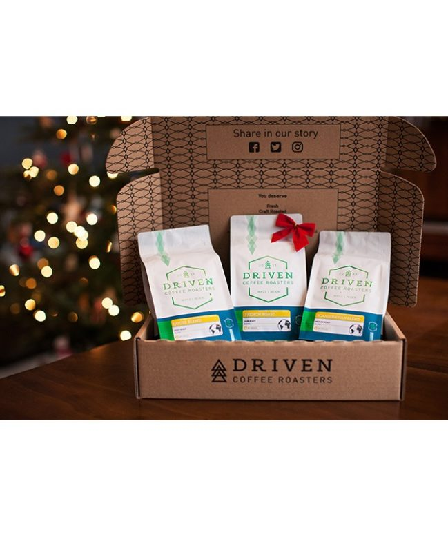 Driven Coffee Holiday Sampler