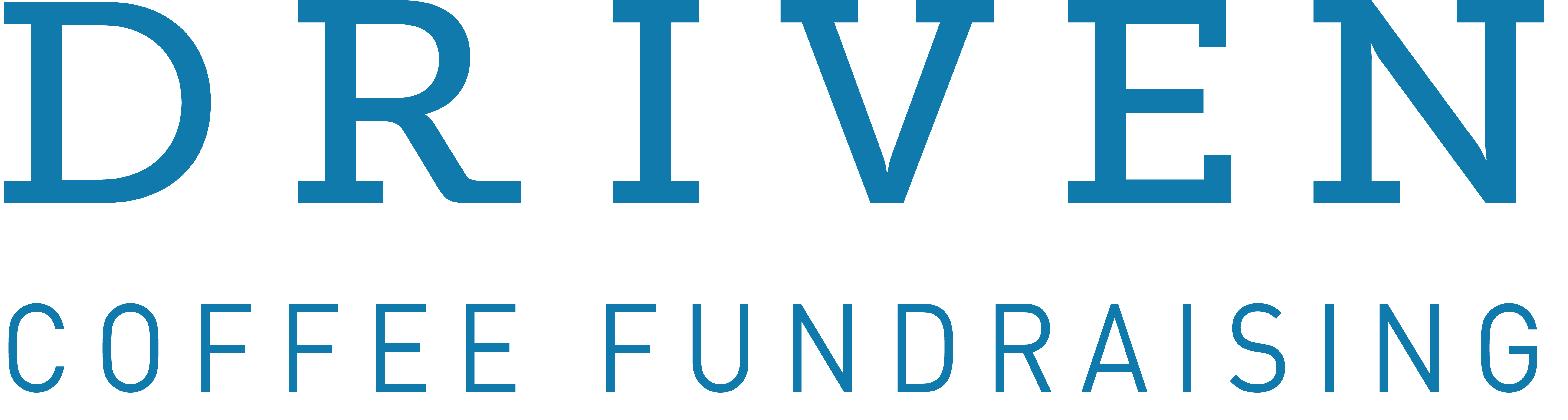 Driven Coffee Fundraising Logo