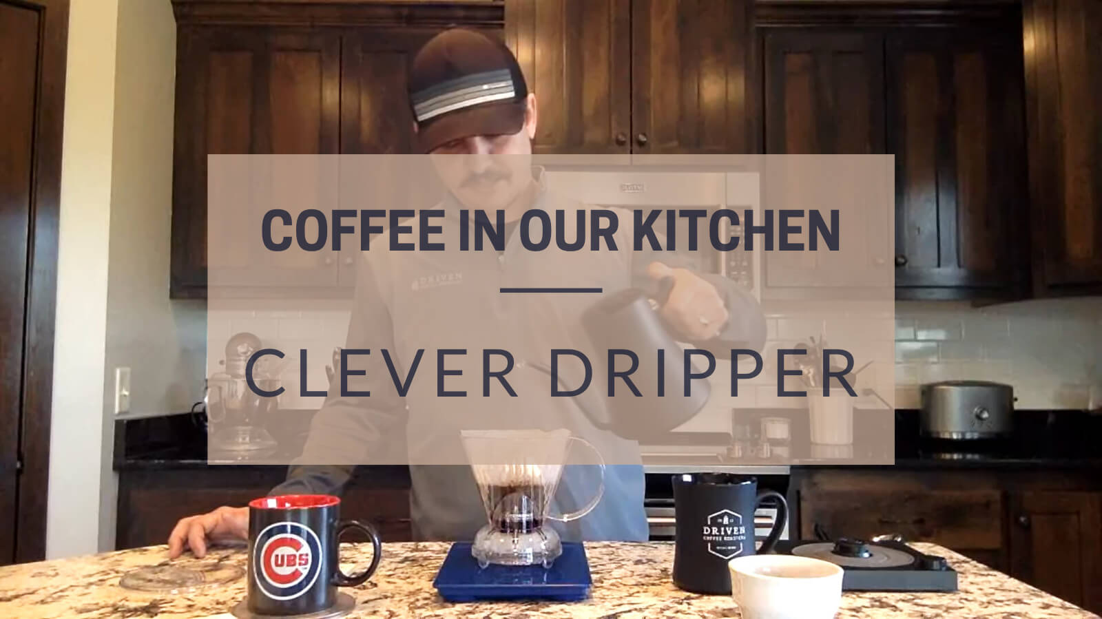 Coffee in our Kitchen Clever Dripper