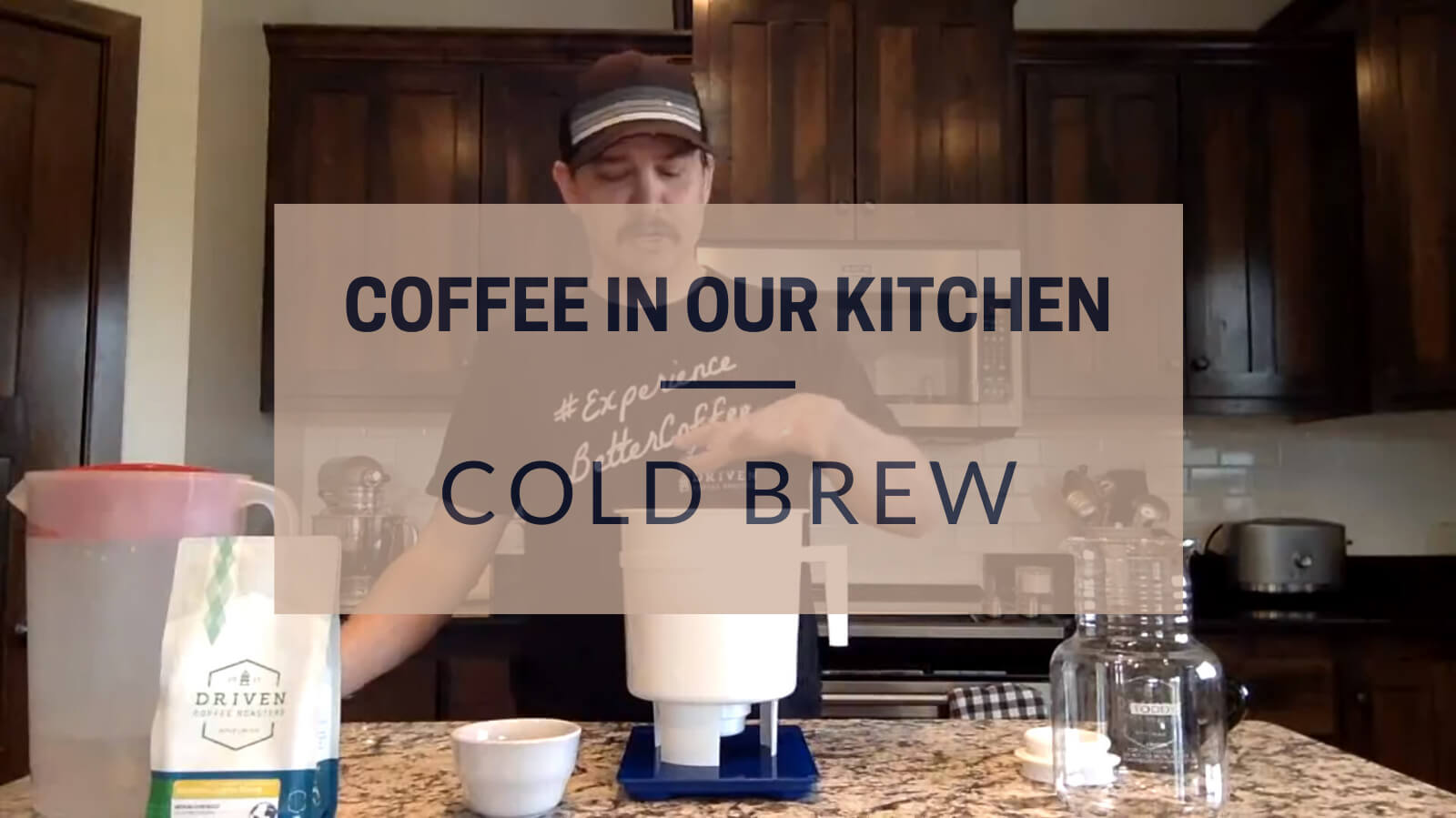 Coffee in our Kitchen Cold Brew