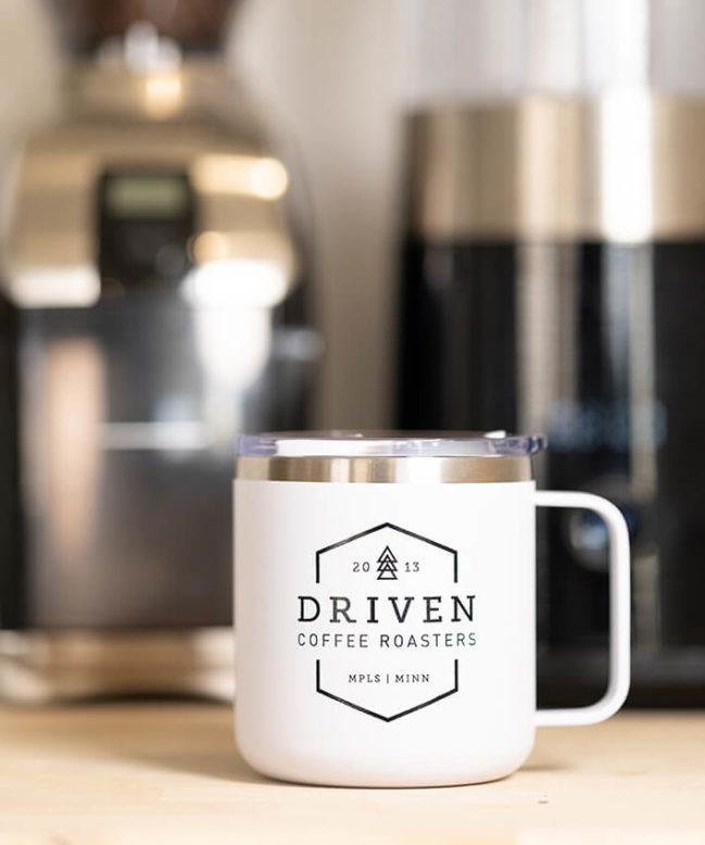 Traveler Mug Home Brewing Setup
