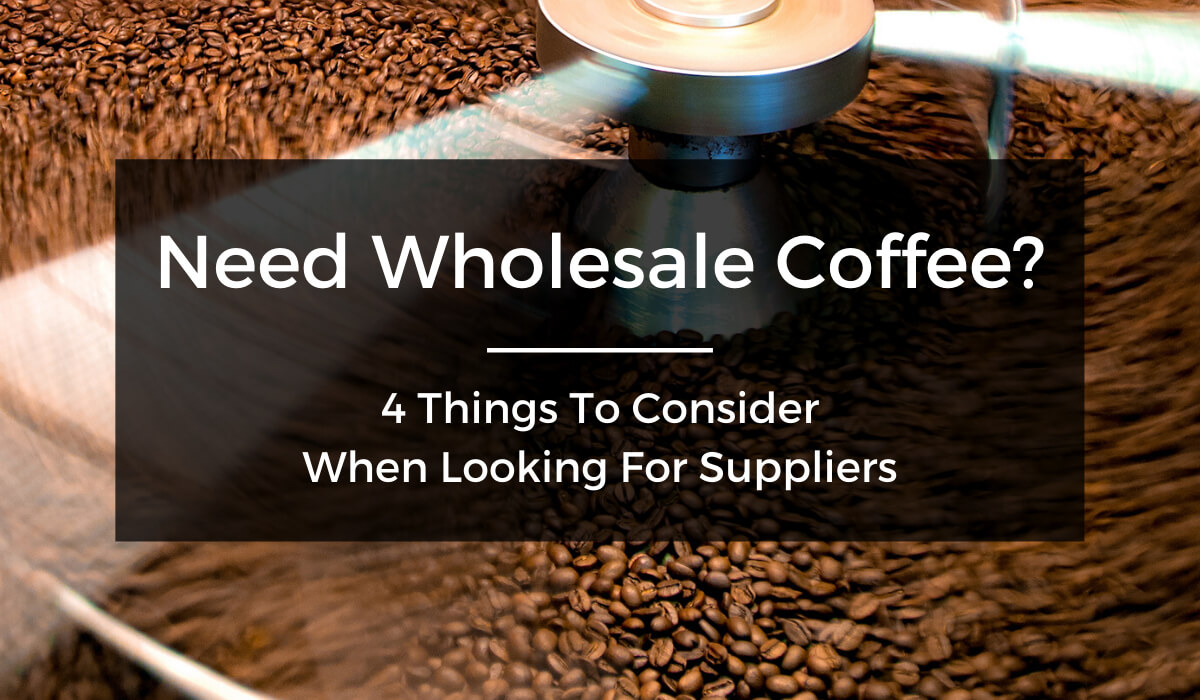 Wholesale Coffee Suppliers