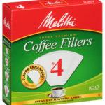 Melitta #4 Filters White