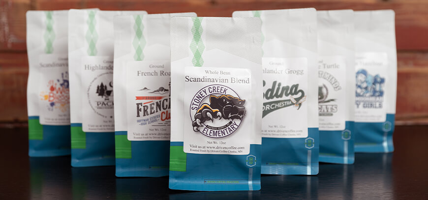 Driven Coffee Fundraising Products