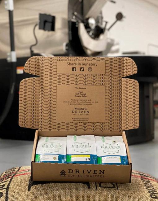 3-bag coffee subscription roastery