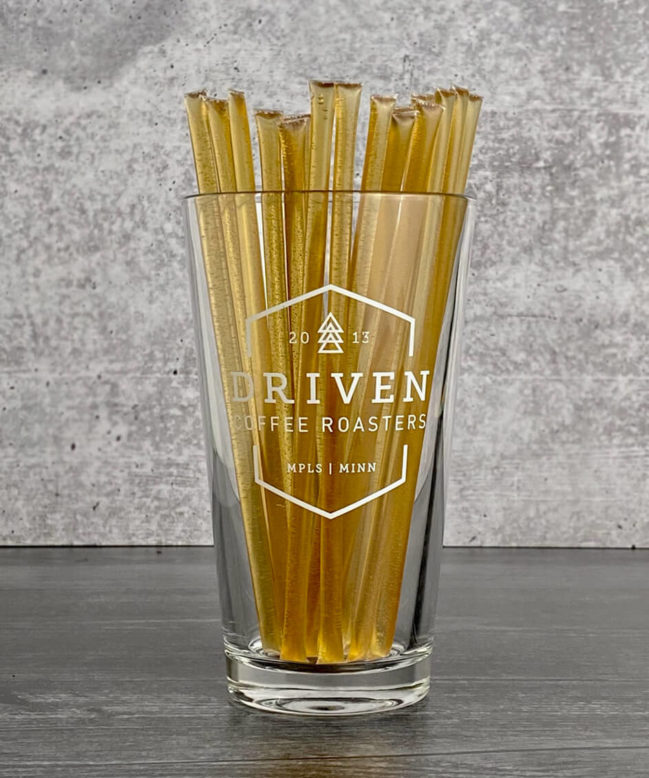 Wildflower Honey Sticks on Display