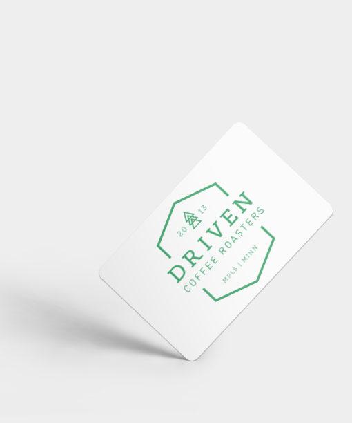Driven Coffee Digital Gift Card